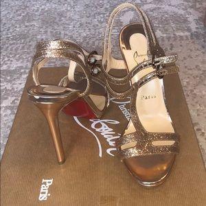 Christian Louboutin Glitter Heels size 37.5